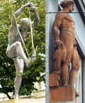 Homoerotic sculptures in Prague (2)