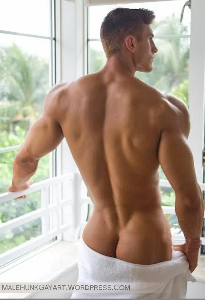 hot naked models butt